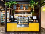 Bread Station Coffee Shop & Bakery Design.
