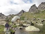 MOUNTAIN HUT FOR 8 PERSONS, NATURAL PARK ERGAKI