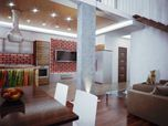 Three-levels penthouse in Kyiv