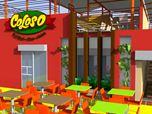 "Redesign of restaurant ""Coloso"""