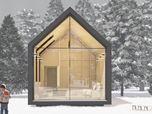 Modern Wood Cabin - CTA