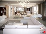 Progettazione e Realizzazione Villa, Area di interesse Soggiorno/Pranzo, Location: Lagos, Nigeria.