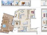 Progetto funzionale con arredi  - abitazione privata - 2013 - Napoli