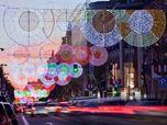 Serrano Street's Christmas lighting