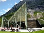 Trollwall Restaurant - National Tourist Routes in Norway