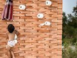 Brick a Brac: wall holder
