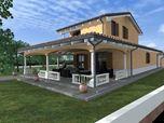 Villa unifamiliare prefabbricato legno