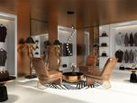 RETAIL CONCEPT FOR A CLOTHING STORE Golden Exquisiteness