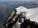 The New Goûter Refuge at 3,835 m on Mont Blanc
