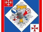 Bandiera e Stemma - Parte di Tramontana, Pisa