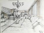 proposal furnitures for country house in Udine