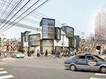 New addition to historic French concession in Shanghai.