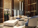 Commercial Interior Design Rendering for a Sublime Hotel Lobby