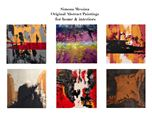 Abstract Paintings for home & Interiors