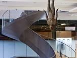 The new stair for the Wellcome Collection