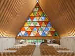 The Transitional 'cardboard' Cathedral