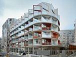 Nursing home, Clichy-Batignolles ecodistrict in Paris