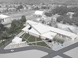 """Concorso di progettazione a inviti per il nuovo complesso parrocchiale """"Resurrezione di nostro Signore"""". Varignano, Viareggio"""