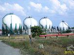 Reconversion d'une raffinerie de pétrole en un parc urbain