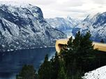 Stegastein, Aurland Lookout - National Tourist Routes in Norway