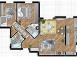 INTERVENTO RADICALE - Appartamento da 90 mq a Roma