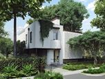 3D Exterior Renders of a Stylish House