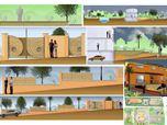 Progettazione di un giardino con arredi - Calitri (AV). 2007