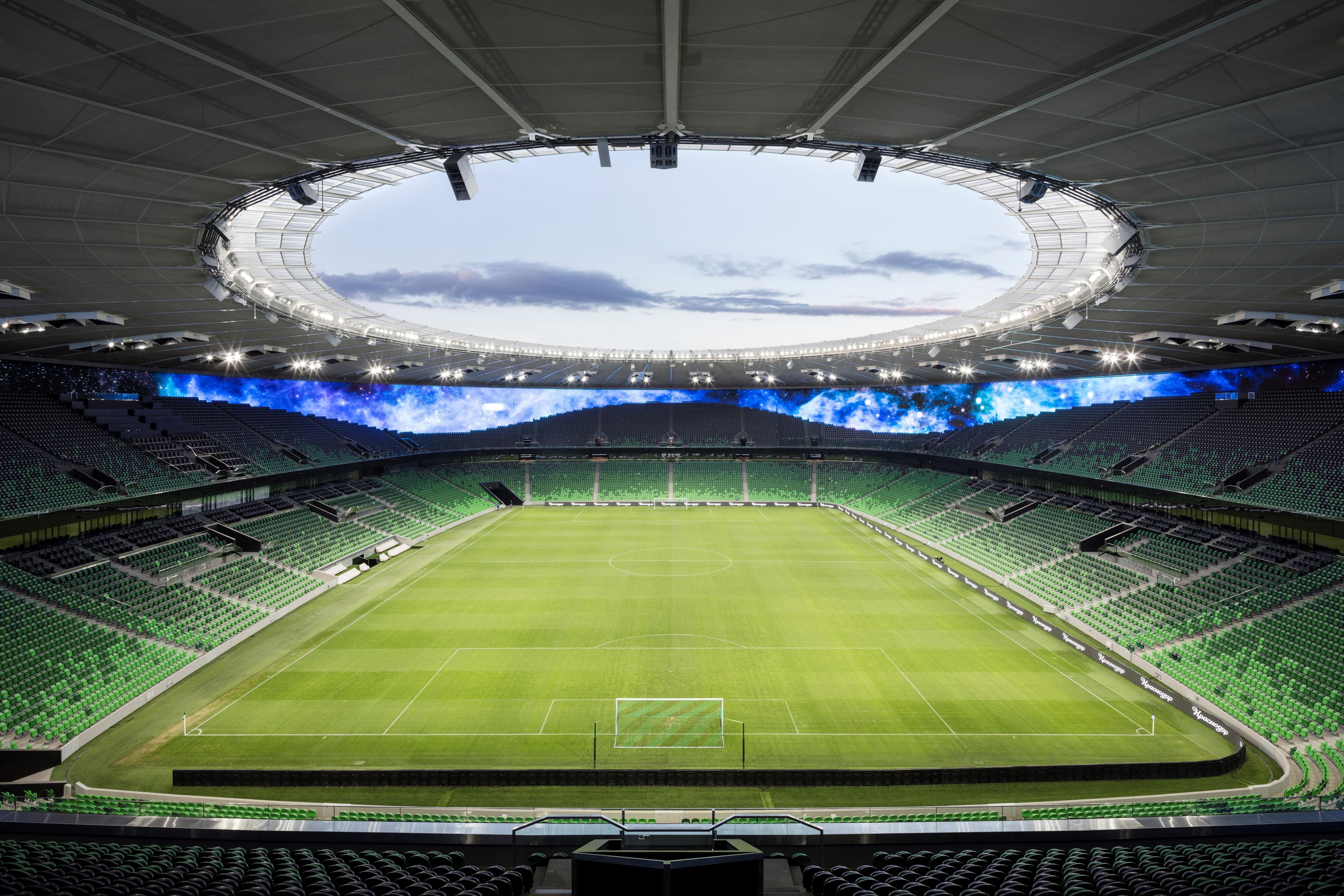 Krasnodar Fc Stadium Gmp Architekten