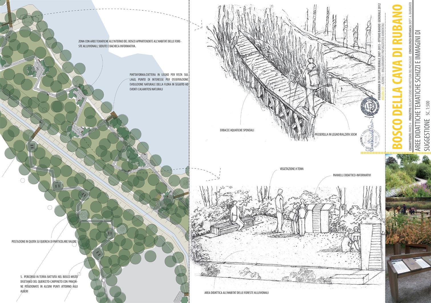 Architettura Del Verde parco etnografico di rubano, padova   bscape architettura