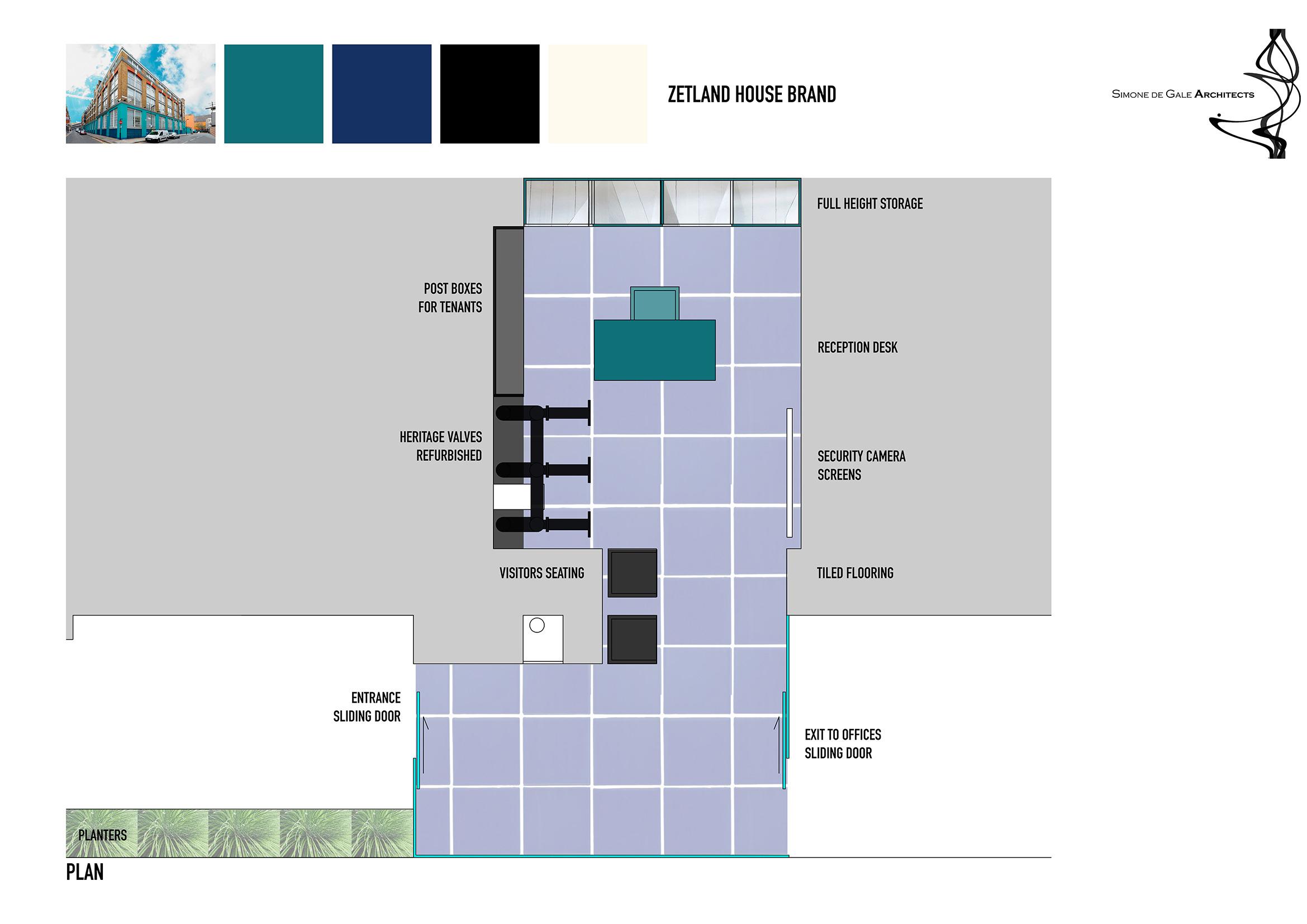 Zetland House Reception | Simone de Gale Architects
