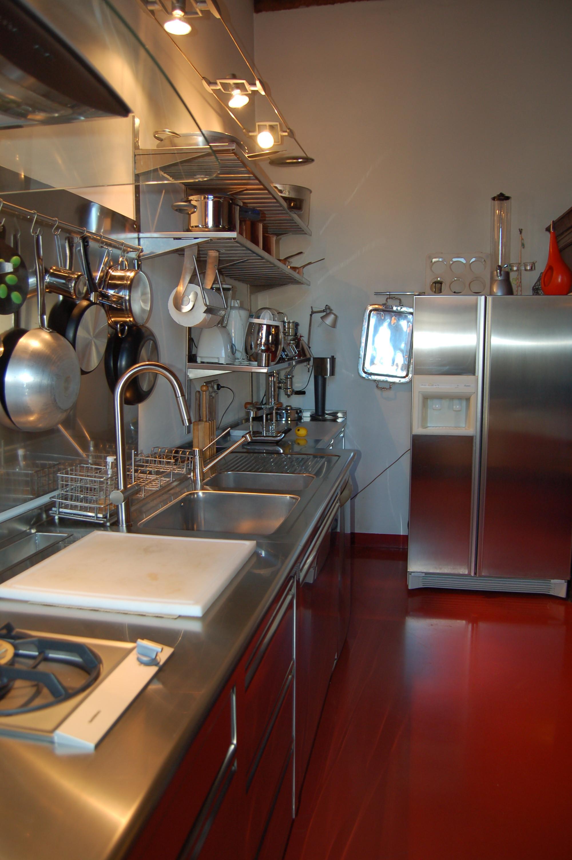 Cucina Professionale In Una Residenza D Epoca Alfonso Vesentini Argento