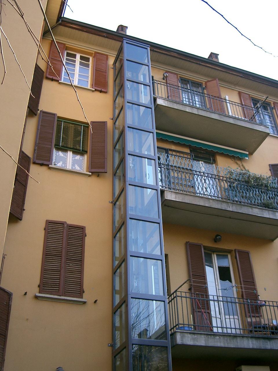 Costo Ascensore Interno 3 Piani installazione ascensore esterno | francesco andresciani