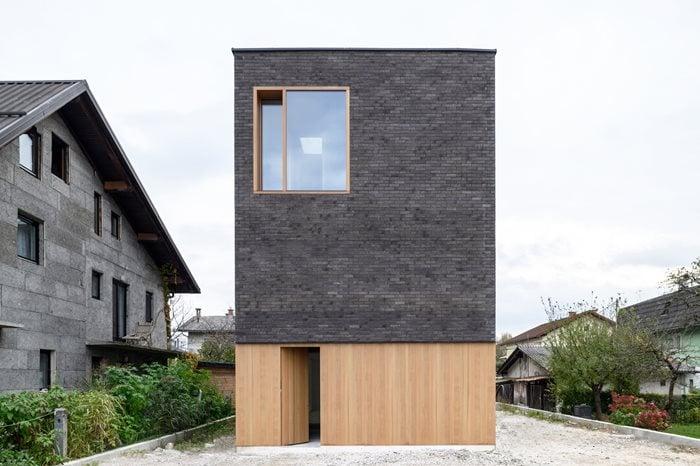 the Double Brick House