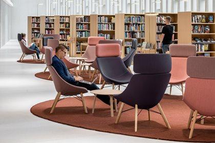 AUKI   Easy chair high-back