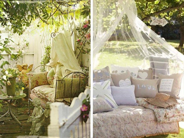 Decorating ideas for setting sunny nook in your backyard on Backyard Nook Ideas id=52547