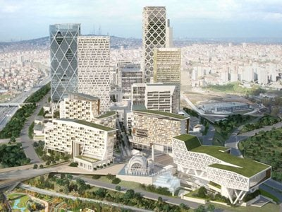 HOK-Designed Master Plan for New Istanbul International Financial Center