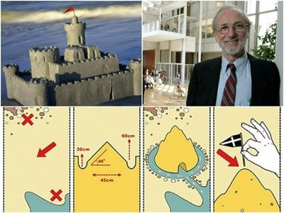 Renzo Piano: how to build the perfect sandcastle