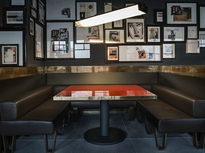 Ceresio 7: the restaurant and lounge bar on the rooftop of the DSquared2 building