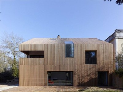 France: Maison 2G designed by Avenier & Cornejo Architectes