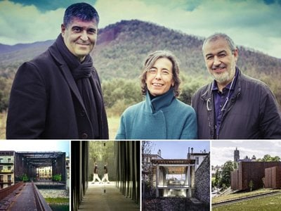 The 2017 Pritzker Prize goes to Rafael Aranda, Carme Pigem and Ramon Vilalta