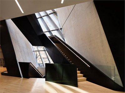 The Eli and Edythe Broad Art Museum by Zaha Hadid will open tomorrow