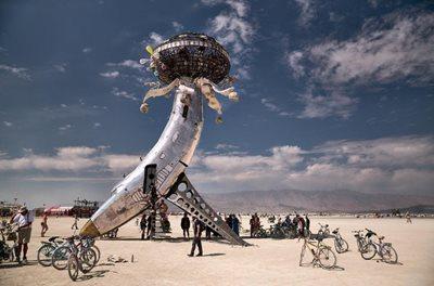 The best Artwork from Burning Man 2018