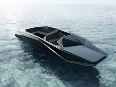 Dame Zaha Hadid and Patrik Schumacher design a limited edition speedboat