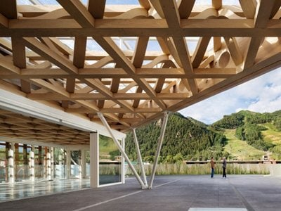 New Aspen Art Museum, designed by Shigeru Ban, opened to the public