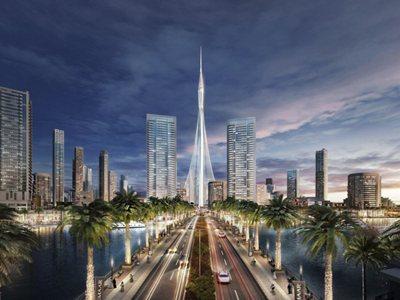 "Ground Breaks on Santiago Calatrava-Designed ""The Tower at Dubai Creek Harbour"""