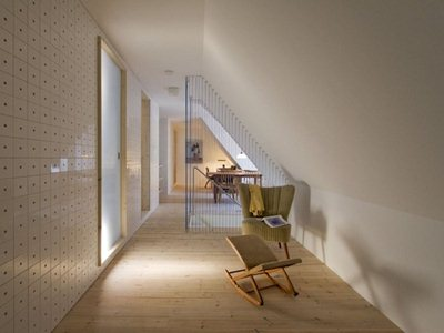 """The ex hay store now holiday home """"Föhr"""" by Francesco Di Gregorio and Karin Matz"""