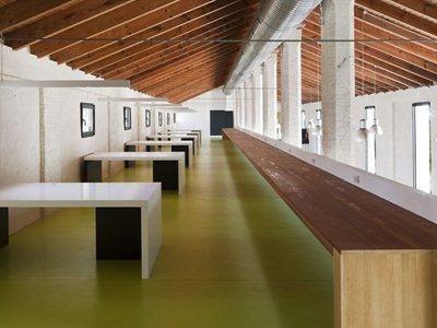 Mudéjar reminiscences in the public library of Almonte