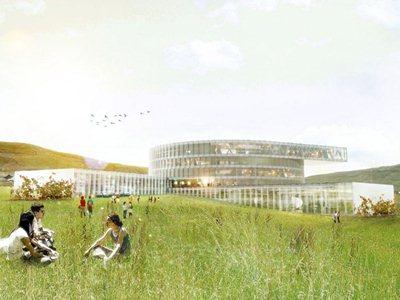 BIG design the biggest building on the Faeroe Islands