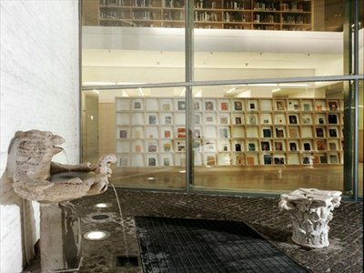 Juan Navarro Baldeweg's Bibliotheca Hertziana in Rome