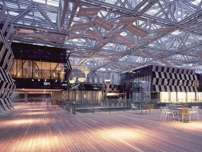 "Kengo Kuma designs the Nagaoka City Hall ""Aore"""